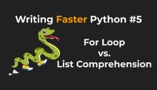 For Loop vs. List Comprehension